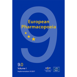 EUROPEAN PHARMACOPEIA 2017 9th Ed 2017 Supplements 9.3-9.4-9.5