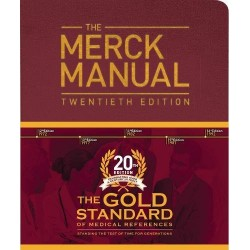 MERCK MANUAL of Diagnosis and Therapy, GOLD 20th Edition