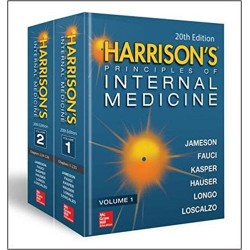 Harrison's Principles of Internal Medicine, 20th Edition, 2 Volume set