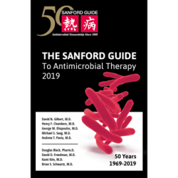Sanford Guide to Antimicrobial Therapy 2019 Library Edition